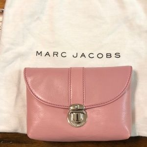 Marc Jacobs large cosmetic calf leather case